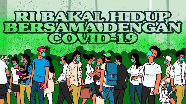 Infografis/Ayo Adaptasi, RI Bakal Hidup Bersama dengan Covid-19/Aristya Rahadian