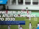 Jokowi Beri Bonus Kontingen Indonesia di Olimpiade Tokyo 2020