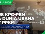 Jurus KPC-PEN Jaga Keberlangsungan Dunia Usaha Hadapi PPKM