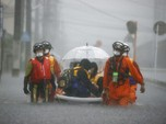 Diguyur Hujan Lebat, Banjir dan Longsor Mengancam Jepang