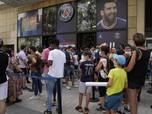 Bak Kacang Goreng, Jersey PSG Nomor 30 Messi Diborong