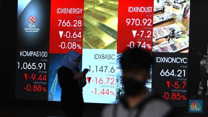 Ilustrasi Bursa Efek Indonesia. (CNBC Indonesia/Muhammad Sabki)