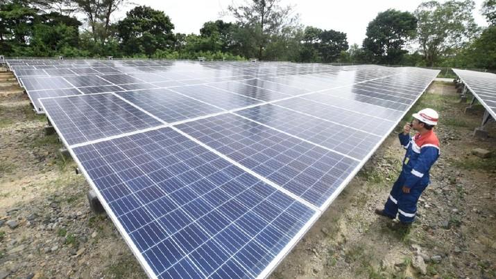 Komit ESG, Pertamina Turunkan Emisi Karbon 3 Ribu Ton per Tahun Dari PLTS Badak LNG