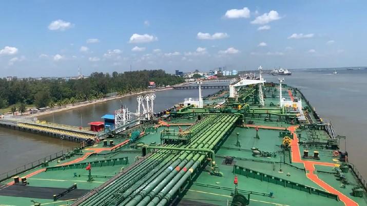 PT Pertamina Hulu Rokan kapalkan minyak perdana. (Dok: PHR)