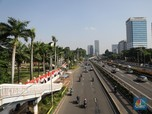 Penampakan Depan Gedung MPR/DPR Saat Pidato Kenegaraan Jokowi