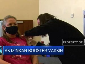 AS Izinkan Booster Vaksin