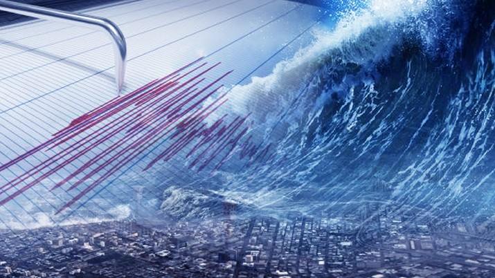 Gambar Konten, Potensi Tsunami Raksasa Hantam Jawa