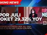 Harga Komoditas Masih Tinggi, Ekspor Juli Naik 29,32% (yoy)