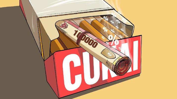 INFOGRAFIS, Cukai Naik, Harga Rokok Bakal Selangit Tahun 2022