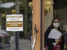 Covid-19 Amerika 'Meledak': Naik 1000%, Faskes pun Kritis