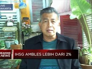 Ambles Lebih dari 2%, IHSG Tinggalkan Level 6.000