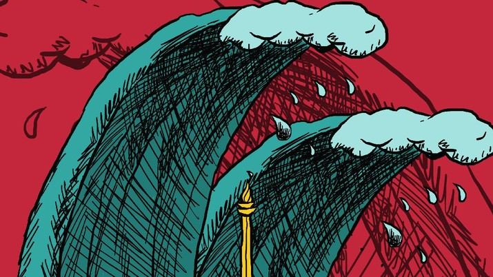 Infografis: Heboh Ramalan Tsunami, Berapa Dana Penanganan Bencana RI?