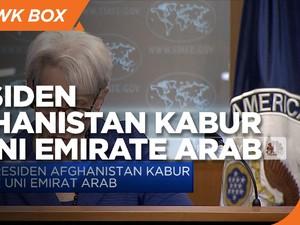Presiden Afghanistan Kabur ke Uni Emirat Arab
