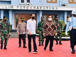 Pakai Pesawat 'Merah-Putih' Jokowi Terbang ke Jatim