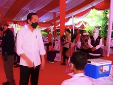Janji Jokowi  Mulai Minggu Ini, Vaksin Datang Banyak Sekali