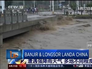 Banjir & Longsor Landa Provinsi Shaanxi, China