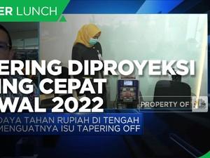 Dikhawatirkan Pasar, Tapering Disebut Paling Cepat Awal 2022