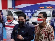 Dukung Tugas & Fungsi BP2MI, TASPEN Serahkan 4 Unit Ambulans