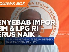 Ini Loh Penyebab Impor BBM & LPG RI Terus Naik!
