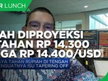 Isu Tapering, Rupiah Diproyeksi Dikisaran Rp 14.300-14.400/US