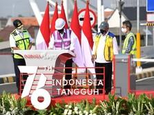 Momen Anies & Jokowi Resmikan Proyek Tol Dalam Kota Jakarta