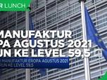 PMI Manufaktur Eropa Agustus 2021 Turun ke Level 59,5