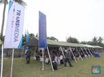 CT ARSA Foundation & TNI AL Gelar Vaksinasi di Muara Gembong