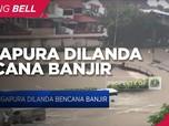 Diguyur Hujan Lebat, Singapura Dilanda Banjir