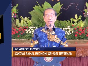 Jokowi Ramal Ekonomi Q3 Tertekan & BOK Naikkan Suku Bunga
