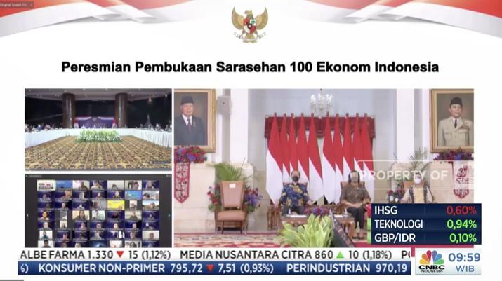 Sarasehan Virtual 100 Ekonom 2021