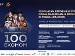 Live Now! Jokowi & 100 Ekonom Kumpul di Sarasehan Virtual