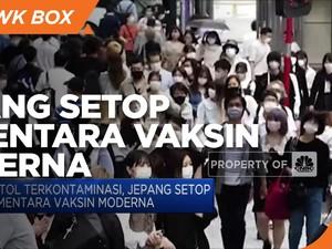 Botol Terkontaminasi, Jepang Setop Sementara Vaksin Moderna