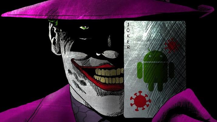 Infografis: Mengenal Joker, Virus yang Curi data & Uang Pengguna Android