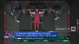 Ni Nengah Widiasih Bawa Pulang Perak di Ajang Paralympic 2020