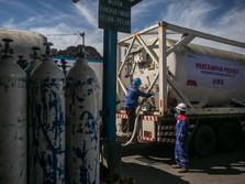 Pertamina Distribusikan 4.855 Ton Oksigen untuk 504 RS