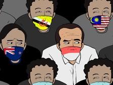 Duh! RI Dikepung Negara-negara dengan Kasus Covid yang Tinggi