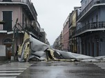 Ngeri! Potret AS Dihantam Badai Ida, Rumah & Mobil Tenggelam