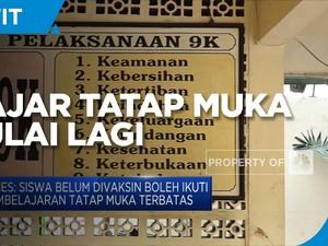 DKI Jakarta Mulai Gelar  Belajar Tatap Muka