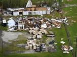 Melihat Kerusakan AS dari Udara Akibat Diterjang Badai Ida