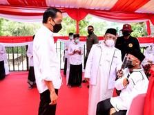 Mantap Pak Jokowi! Soal Vaksinasi, RI Peringkat 6 Dunia