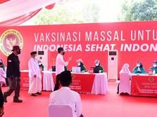 Pengakuan Jokowi: Vaksin Covid Secara Nasional Belum Cukup