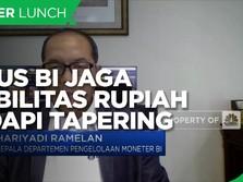 Jurus BI Jaga Stabilitas Rupiah Hadapi Tapering Off