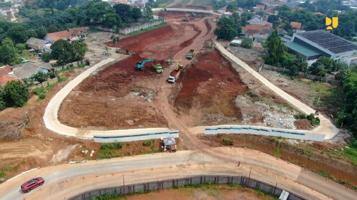 Pembangunan Jalan Tol Serpong – Balaraja. (Dok. Kementerian PUPR)