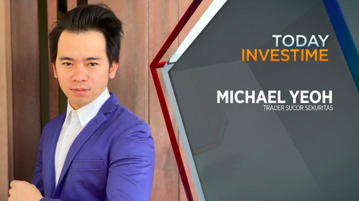 Michael Yeoh, professional trader dari Sucor Sekuritas