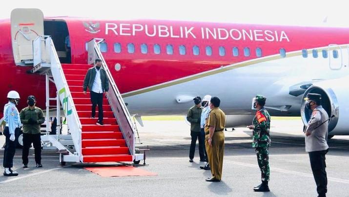 Presiden Joko Widodo Melakukan Kunjungan Kerja di Lampung (Biro Pers Sekretariat Presiden?Lukas)