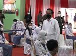 Saat Warga di Lampung Curhat ke Jokowi Pasokan Vaksin Kurang