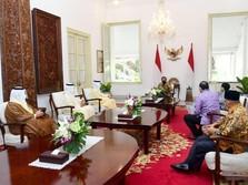 Jokowi Temui Mendag UEA di Istana, Apa yang Dibahas?