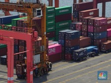 Agustus 2021: Ekspor RI US$ 21,42 Miliar, Melambung 64,1%