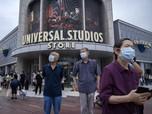 Membludak, Ini Potret Uji Coba Universal Studio di Beijing