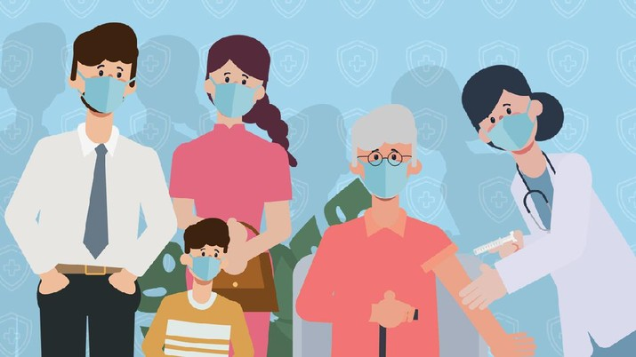 INFOGRAFIS, Daftar Lokasi dan Syarat Vaksin Pfizer di Sini bagi Yang Belum
